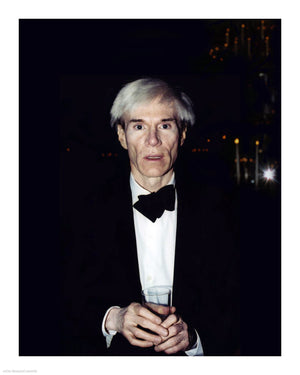 Andy Warhol (by Peter Warrack) - Limited Edition, Set of 3 Archival Prints - 8x10""