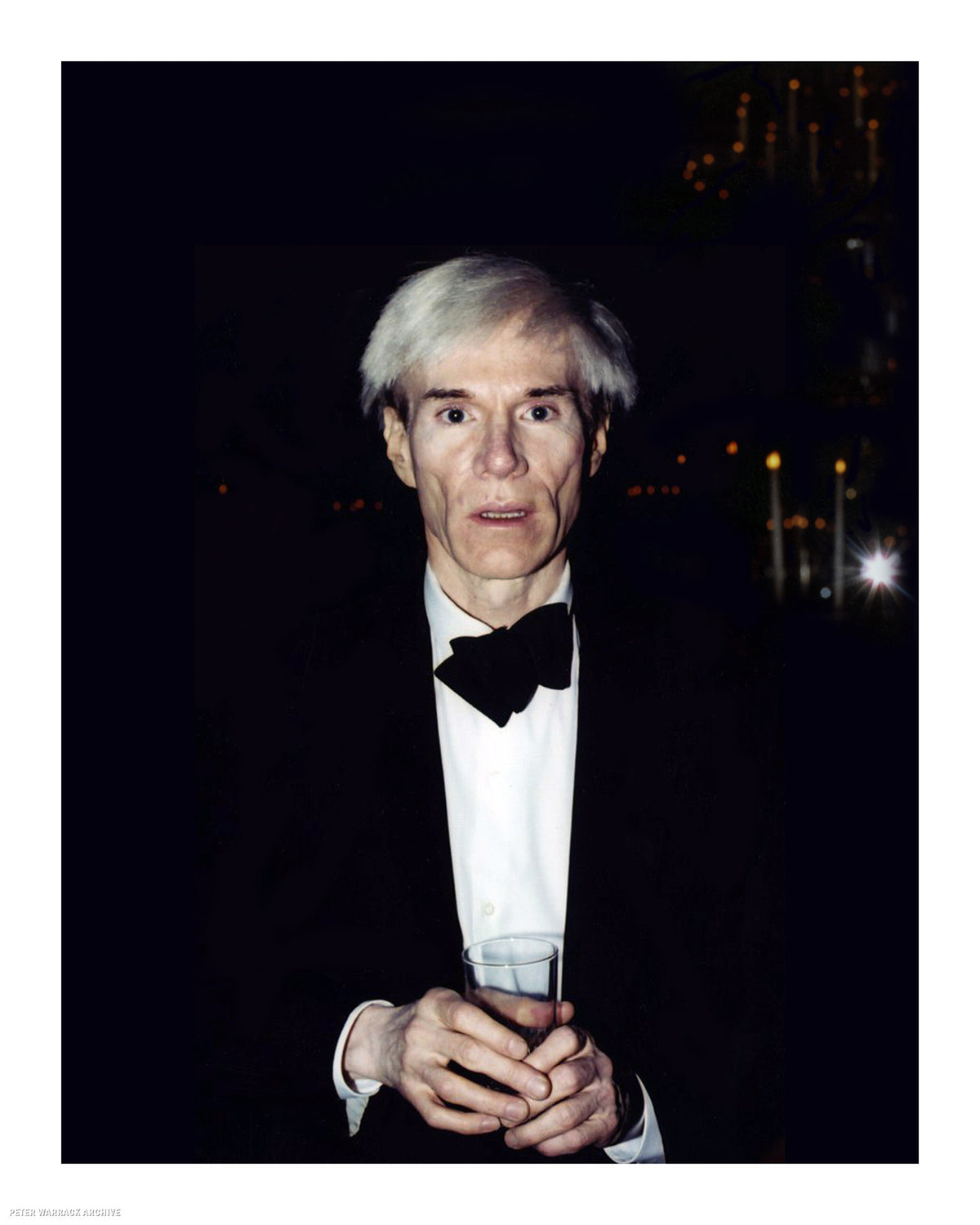 Andy Warhol (by Peter Warrack) - Limited Edition, Archival Print - 16x20""