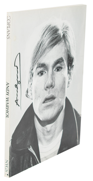 Andy Warhol - Signed Book, First Edition - 1970