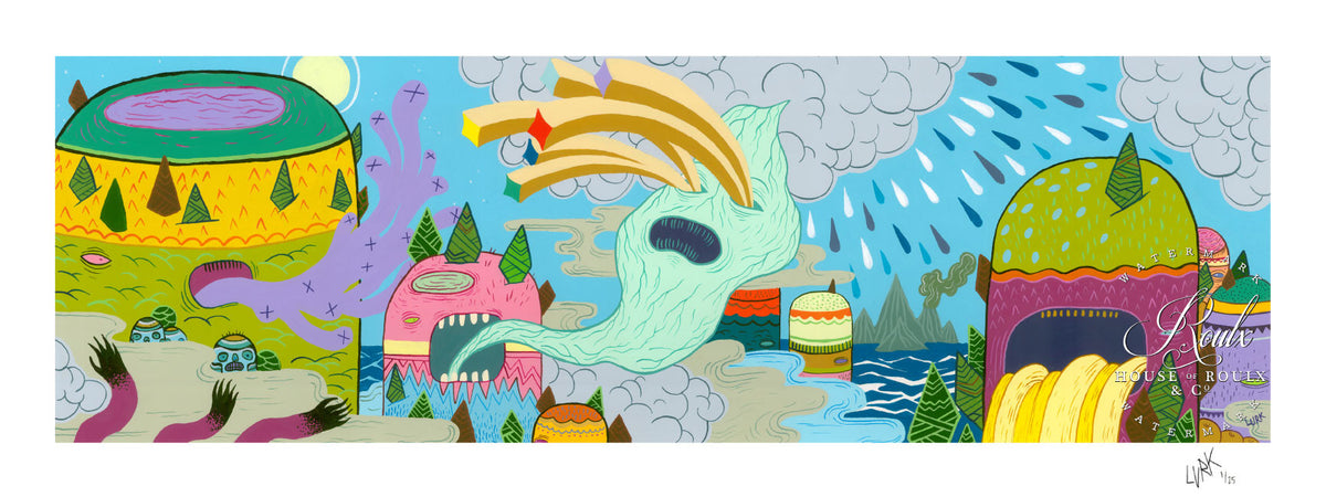 "LURK ""Weather Patterns"" - Limited Edition, Archival Print"