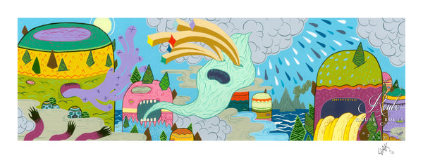 """Weather Patterns"" by LURK - Limited Edition, Archival Print"