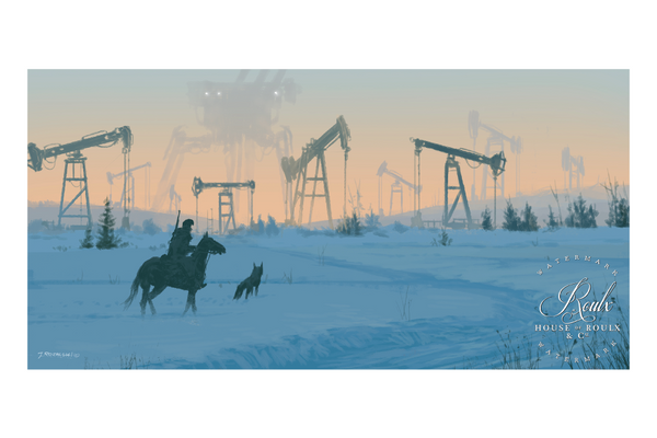 """Iron Field"" by Jakub 'Mr. Werewolf' Rozalski - Fine Art Print"