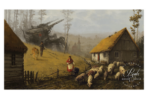 """1920 - Strong Temptation"" by Jakub 'Mr. Werewolf' Rozalski - Limited Edition, Fine Art Print"