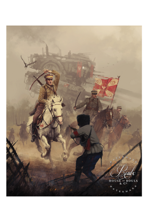 """1920 - Battle of Warsaw"" by Jakub 'Mr. Werewolf' Rozalski - Fine Art Print"