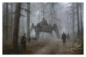 """1920 - German Wolves"" by Jakub 'Mr. Werewolf' Rozalski - Limited Edition, Fine Art Print"