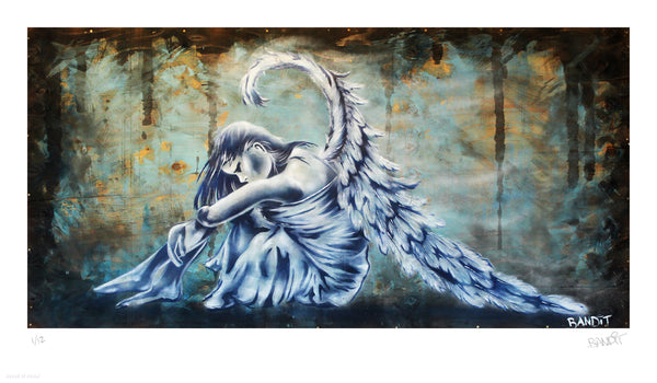"Bandit ""Mystical Wings"" - Archival Print, Limited Edition of 12 - 14 x 24"""