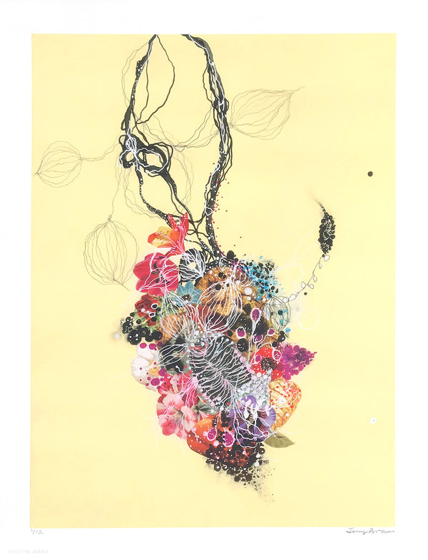 "Jenny Brown ""Wild Ghost Vine"" - Archival Print, Limited Edition of 12 - 13 x 17"""