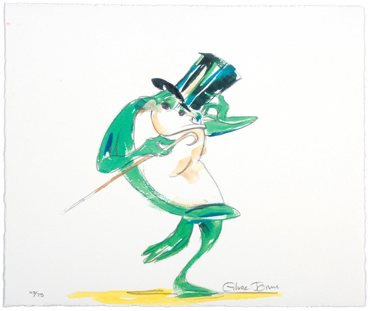 "Chuck Jones - ""Michigan J. Frog"" - Signed Limited Edition Print - 12.5 x 10.5"""