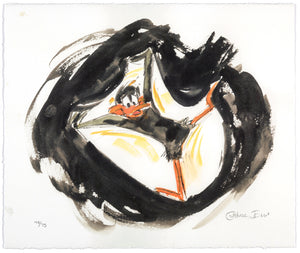 "Chuck Jones - ""Daffy Duck"" - Signed Limited Edition Print - 12.5 x 10.5"""