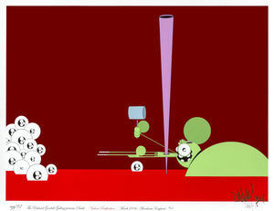"Dalek ""Violent Pacification, 3: Spike"" - 2006 Serigraph, #98/100 - 24 x 32"""
