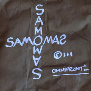 "Al Diaz ""SAMO©…"" - Original Hand-Painted Army Field Jacket"