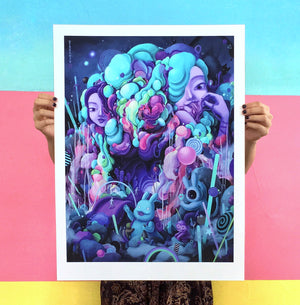 "Wingchow ""Candy Eaters Den"" - Archival Print, Limited Edition of 30 - 18 x 24"""