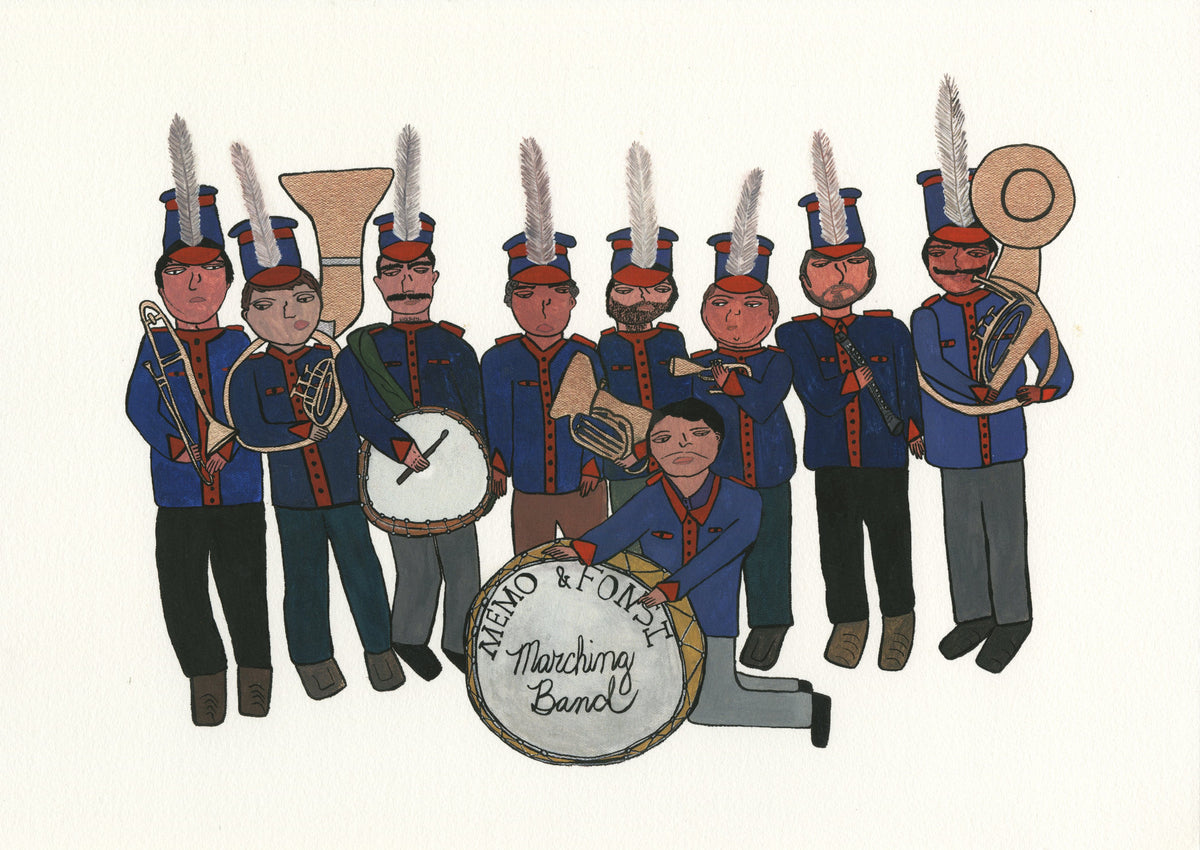 "Jen Uman ""Band"" - Limited Edition, Archival Print"