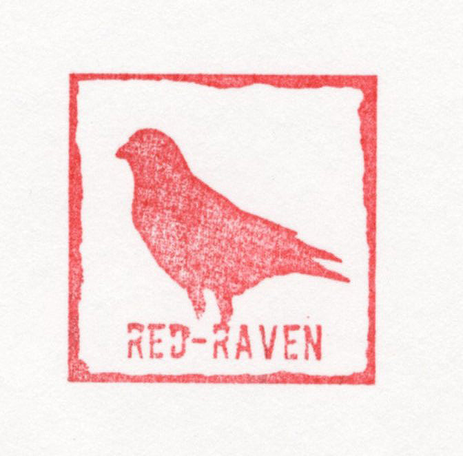 "Red-Raven ""Seeing Red"" - Limited Edition, Archival Print"