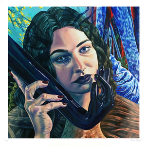 "Nicole Salgar ""The Calling"" - Archival Print, Limited Edition of 12 - 17 x 17"""