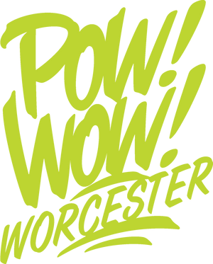 """POW! WOW! Worcester"" by Spear Torres - Archival Print, Limited Edition of 12 - 13 x 17"""