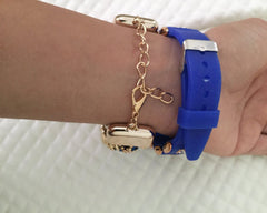 Cool Blue Watch Bracelet Set