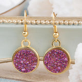 0_ELI RESIN DRUZY CHIC DROP EARRINGS - tavoosfashion