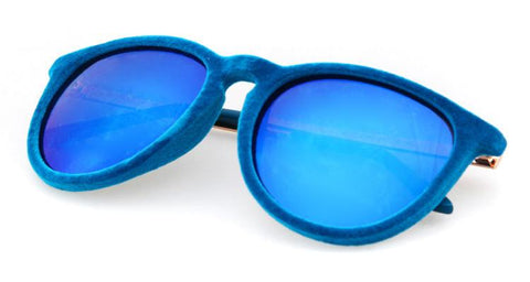 COMFORTABLE VELVET SUNGLASSES - tavoosfashion