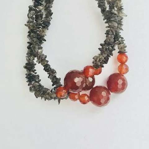 CARNELIAN STONE JEWELRY SETS - tavoosfashion