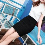 AVA SLIM SEAMLESS SHORT SKIRT - tavoosfashion