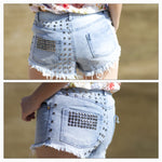 MAYA FASHIONABLE JEAN SHORTS - tavoosfashion