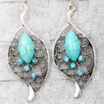BOHEMIA LEAF EARRINGS - tavoosfashion