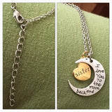 I LOVE YOU GOLD ENGRAVED NECKLACE - tavoosfashion