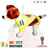 Colombia Dog Soccer Jersey- free shipping