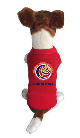 Costa Rica Dog Soccer Jersey-  Sports t-shirt - World Cup 2018