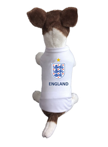 England Dog Soccer Jersey-  Sports t-shirt - World Cup 2018