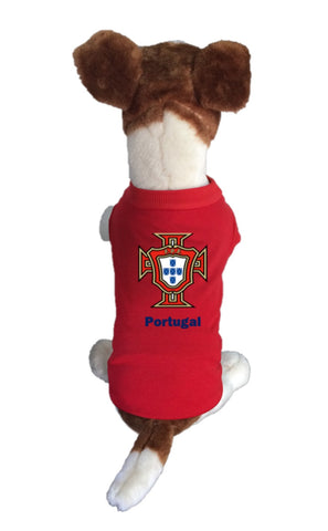 Portugal  Dog Soccer Jersey-  Sports t-shirt - World Cup 2018