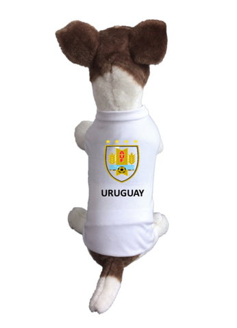 Urugay Dog Soccer Jersey-  Sports t-shirt - World Cup 2018