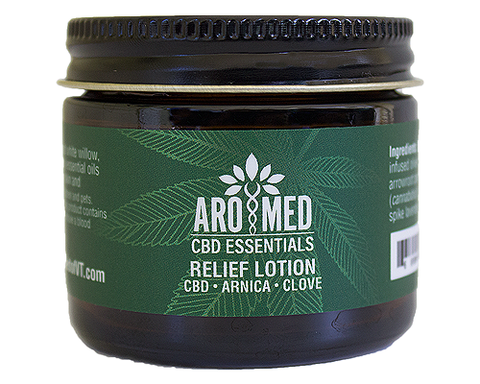CBD Aromatics- Relief Lotion