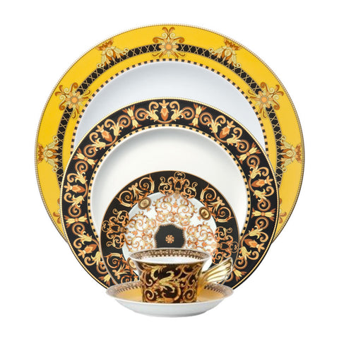 Versace Barocco Dinnerware 5-Piece Place Setting  sc 1 st  Fine et Flair Furniture Inc. - Shopify & Versace Rosenthal Dinnerware \u2013 Tagged \