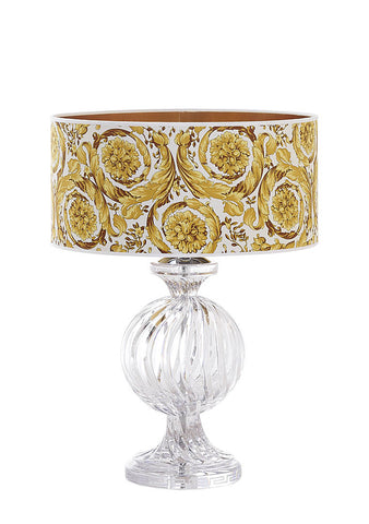 Versace Candy Lamp In Barocco White Gold Shade  1Pc.
