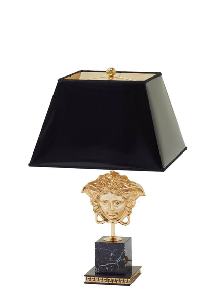Versace Medusa In Black Shade Fine Et Flair Furniture Inc