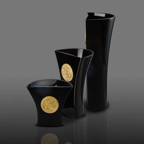 Versace Rosenthal Medusa Madness 3 Piece Set Black Fine Et Flair