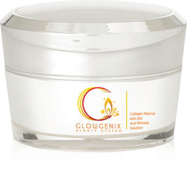 Glowgenix Beauty System Step 1: Collagen Retinol with IP6 Anti-Wrinkle Solution