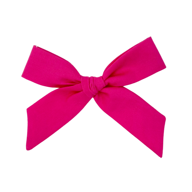 Fuschia :: Oversized Explorer Bow