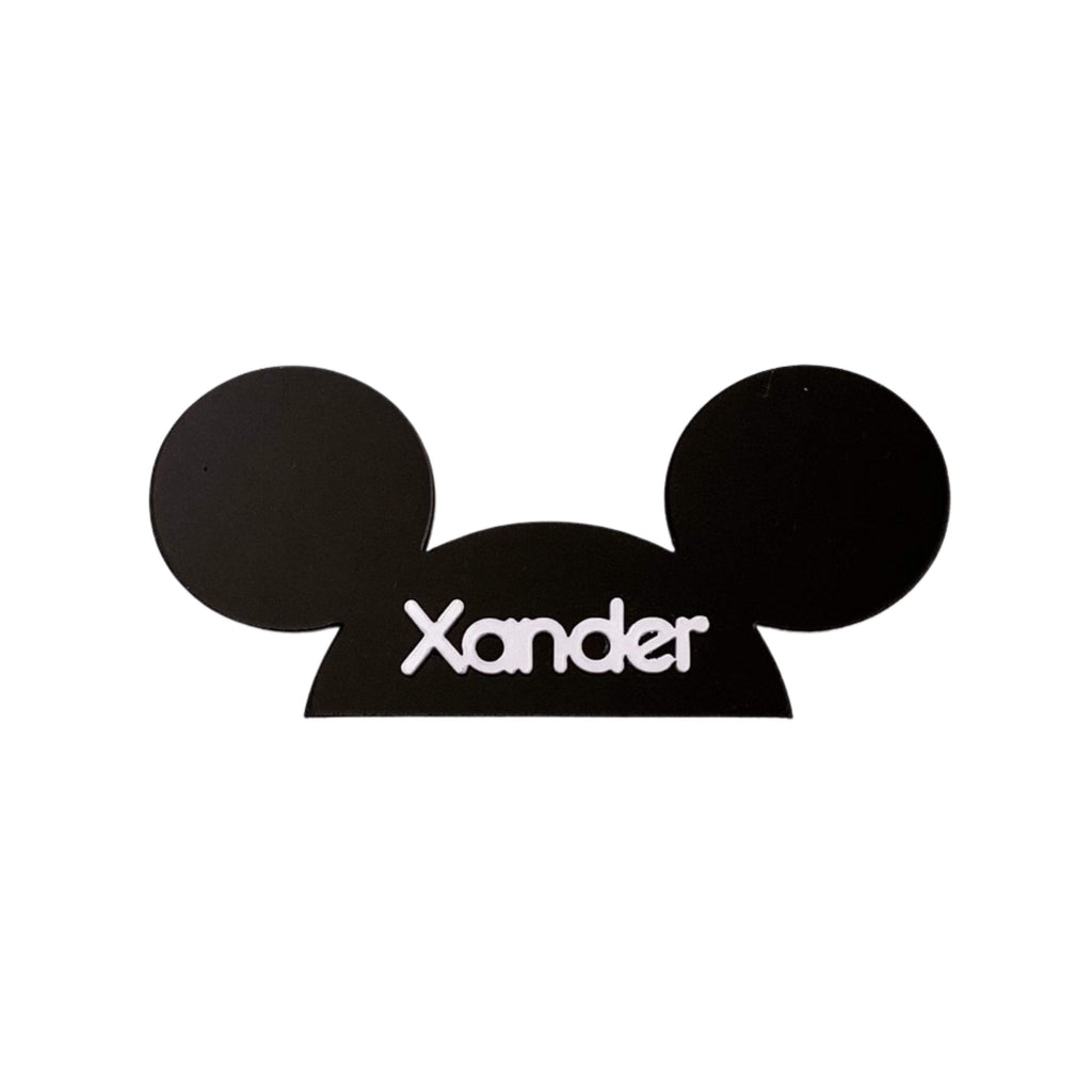Mouseketeer Custom Name :: Pin