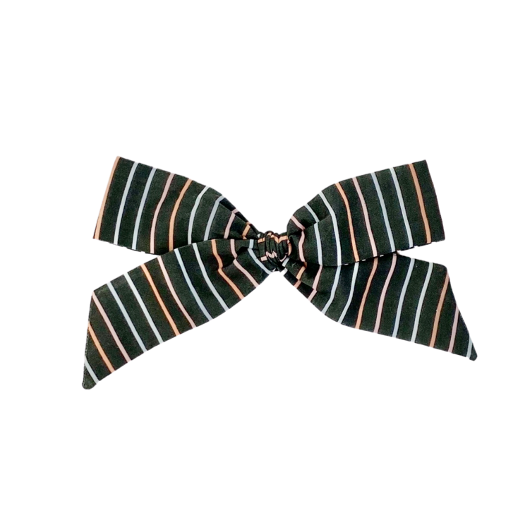 Bewitched Stripe :: Oversized Explorer Bow