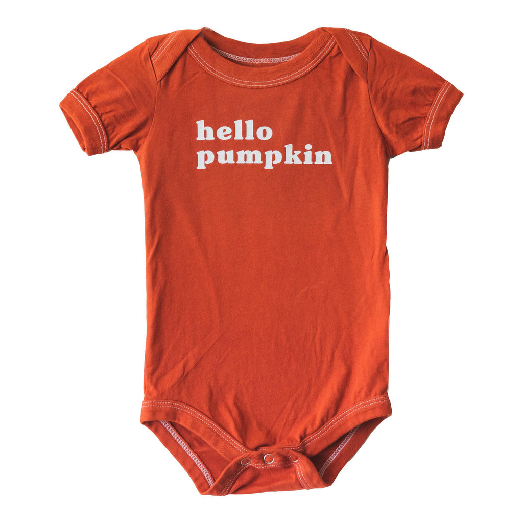 Hello Pumpkin :: Bodysuit