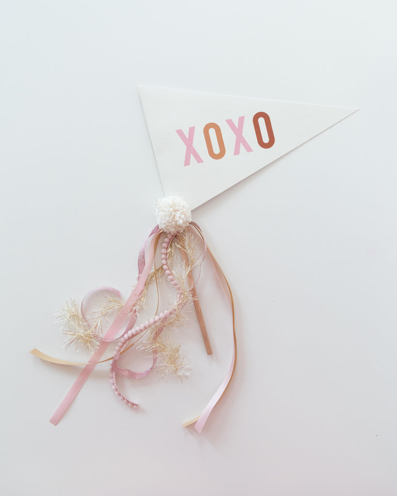 XOXO Flag :: PINK :: Printable