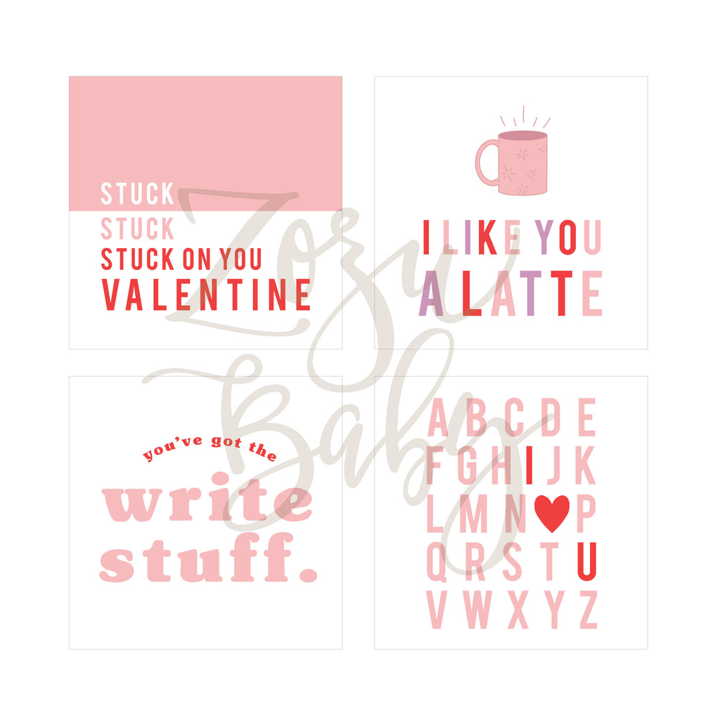 Valentines :: RED :: Printables