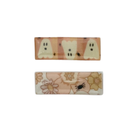 Spooky Cute :: Indy & Pippa :: Resin Clip Set