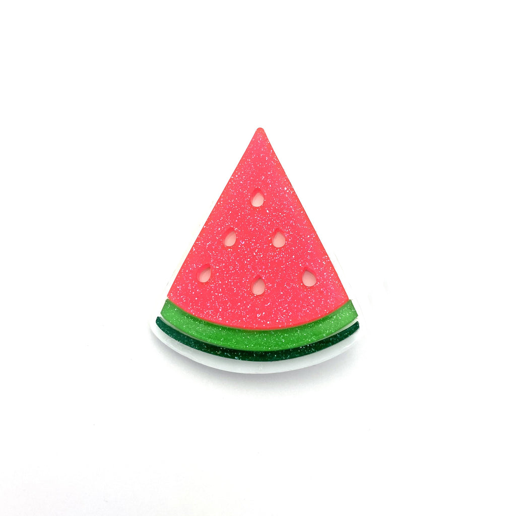 Watermelon Slice :: Acrylic Pin