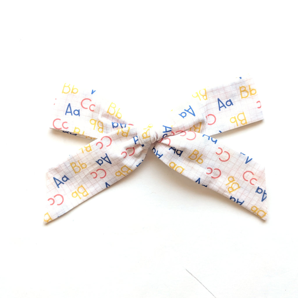 ABC's :: Oversized Explorer Bow