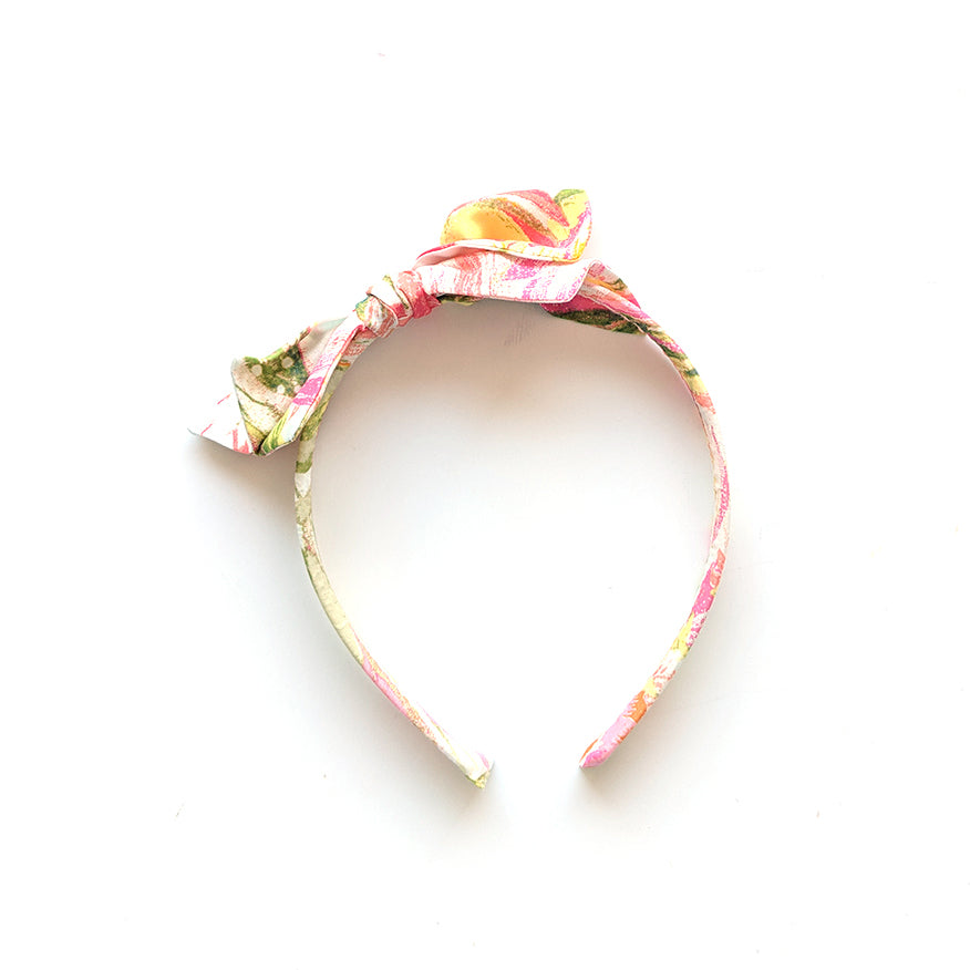 Abstract Floral :: Big Girl Headband
