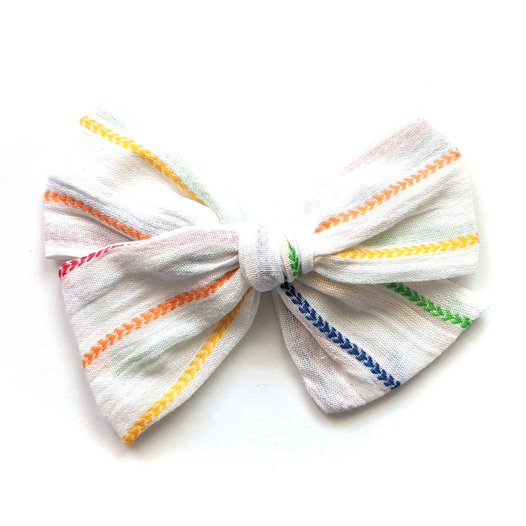 Rainbow Stripe :: April '20 :: Voyager Bow